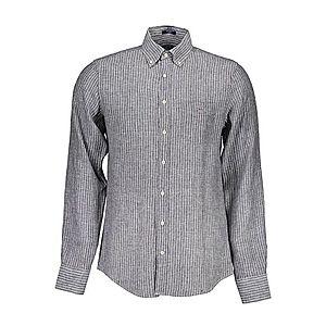 Gant pánska košeľa Farba: čierna, Veľkosť: L vyobraziť