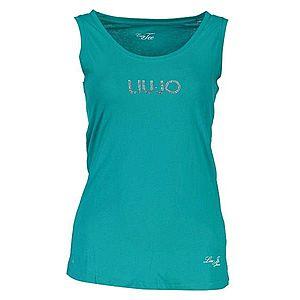 Liu Jo dámske tričko Farba: Zelená, Veľkosť: XS vyobraziť