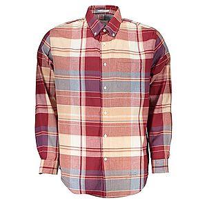 Gant pánska košeľa Farba: červená, Veľkosť: L vyobraziť