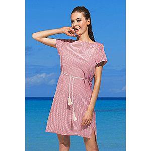 Dámske plážové šaty Pandora červené vyobraziť
