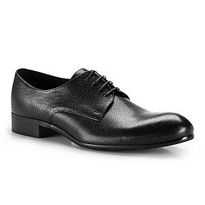 Pánske oblekové čierne poltopánky. vyobraziť
