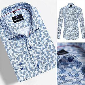 Bavlnená košeľa so vzorom klasickom strihu Di Selentino - OdessaCLASSIC vyobraziť