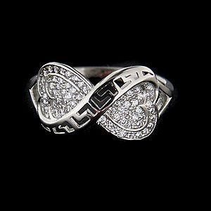 Strieborný prsteň 62690 vyobraziť