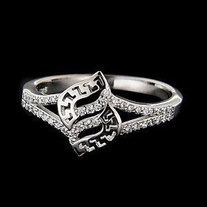 Strieborný prsteň 62691 vyobraziť