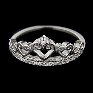 Strieborný prsteň 62692 vyobraziť