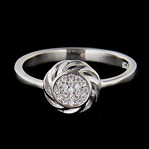Strieborný prsteň 62694 vyobraziť
