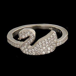 Strieborný prsteň 62959 vyobraziť