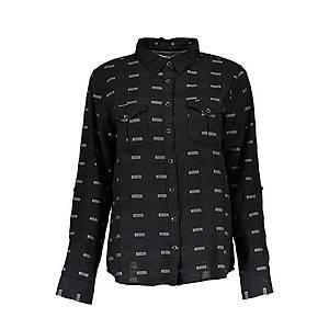 Lee Jeans dámska košeľa Farba: čierna, Veľkosť: S vyobraziť