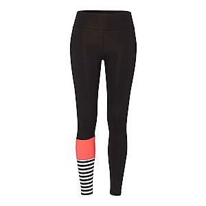 Hey Honey Športové nohavice čierna / ružová vyobraziť