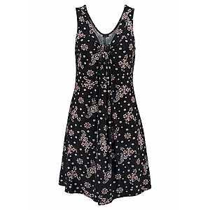LASCANA Plážové šaty staroružová / čierna vyobraziť