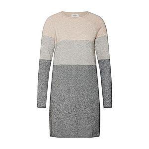 ONLY Pletené šaty béžová vyobraziť