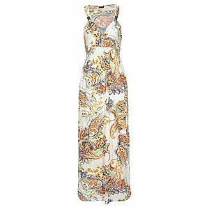 LASCANA Plážové šaty svetlooranžová / biela vyobraziť