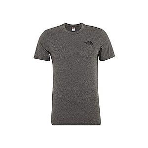 THE NORTH FACE Tričko 'Simple Dom' čierna / sivá vyobraziť