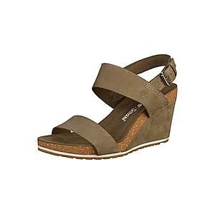 TIMBERLAND Remienkové sandále hnedé vyobraziť