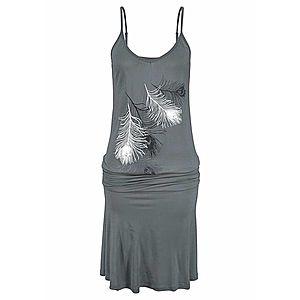 LASCANA Plážové šaty sivá vyobraziť