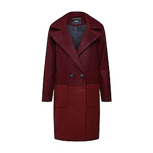ONLY Prechodný kabát červené / vínovo červená vyobraziť