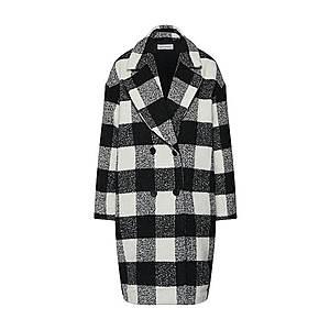 GLAMOROUS Zimný kabát 'JL5369' čierna / biela vyobraziť