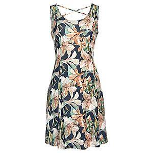 LASCANA Plážové šaty námornícka modrá / pastelovo zelená / ružová vyobraziť