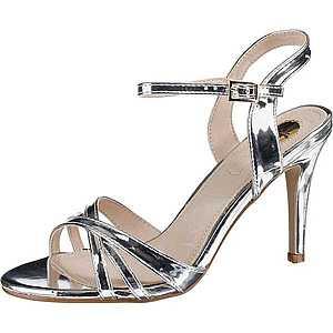 BUFFALO Remienkové sandále 'Anja' strieborná vyobraziť