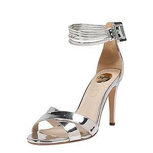 BUFFALO Remienkové sandále 'AMINA' strieborná vyobraziť