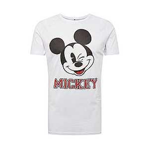Mister Tee Tričko 'Mickey College' biela vyobraziť