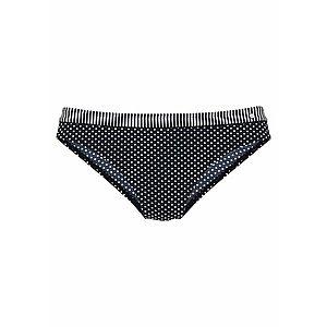 s.Oliver Bikinové nohavičky 'Avni' čierna / biela vyobraziť