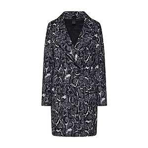 DRYKORN Prechodný kabát 'GIRONA' čierna / biela vyobraziť