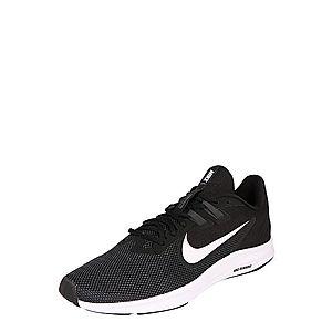 NIKE Bežecká obuv 'Downshifter 9' čierna / biela vyobraziť