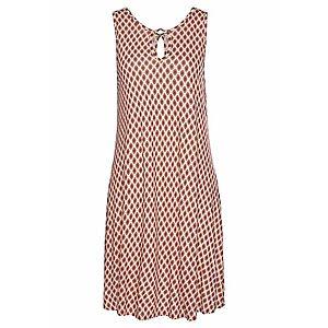 LASCANA Plážové šaty piesková / červená / karmínovo červená vyobraziť