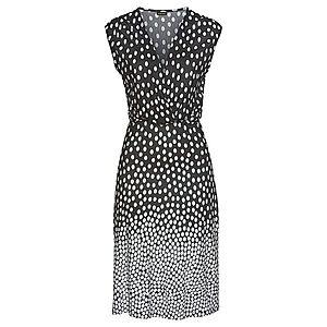 LASCANA Plážové šaty čierna / biela vyobraziť