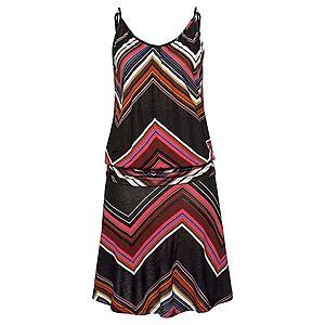 LASCANA Plážové šaty zmiešané farby / čierna vyobraziť