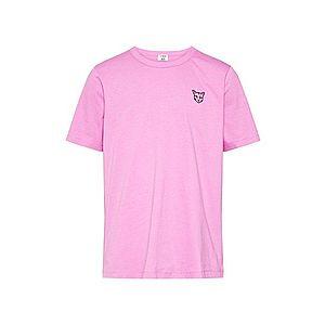 PARI Tričko 'Jim' čierna / ružová vyobraziť