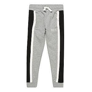 Nike Sportswear Nohavice sivá / čierna vyobraziť