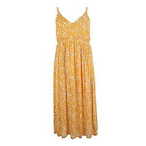 ABOUT YOU Curvy Letné šaty 'Anna' žltá / biela vyobraziť
