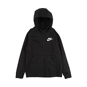 Nike Sportswear Tepláková bunda čierna vyobraziť