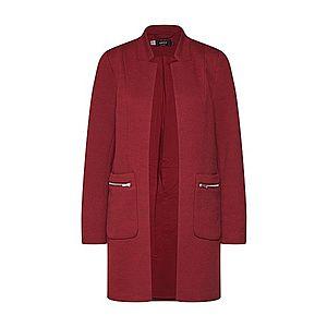 ONLY Prechodný kabát 'LINEA' vínovo červená vyobraziť