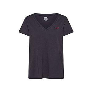 LEVI'S Tričko čierna / červená / biela vyobraziť