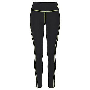 LASCANA ACTIVE Športové nohavice čierna / neónovo žltá vyobraziť