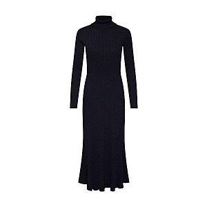 EDITED Pletené šaty 'Syrina' čierna vyobraziť
