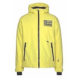 CHIEMSEE Outdoorová bunda čierna / žltá vyobraziť