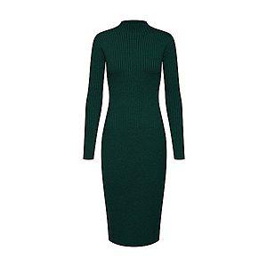 EDITED Pletené šaty 'Hada' zelená / tmavozelená vyobraziť