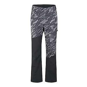 ZIENER Športové nohavice 'TAVAN ' tmavosivá / čierna vyobraziť