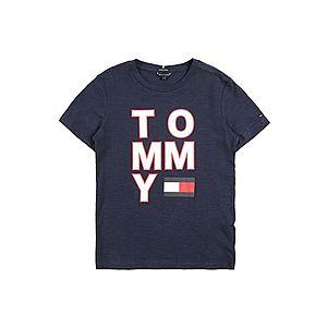 TOMMY HILFIGER Tričko námornícka modrá / červená / biela vyobraziť