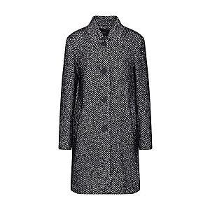 SET Prechodný kabát čierna / biela vyobraziť