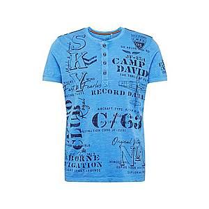 CAMP DAVID Tričko modré vyobraziť