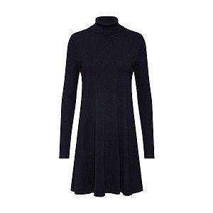 VERO MODA Pletené šaty 'HAPPY' čierna vyobraziť