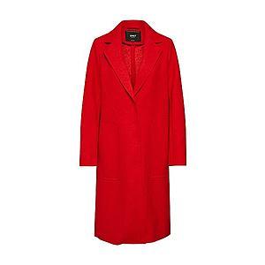 ONLY Prechodný kabát 'ONLAMINA COAT' červené vyobraziť