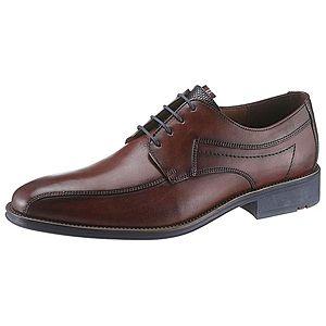 LLOYD Šnurovacie topánky 'Gerald' gaštanová vyobraziť