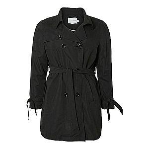 Junarose Prechodný kabát čierna vyobraziť