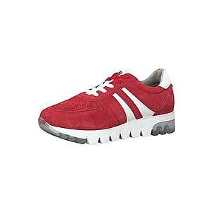 TAMARIS Nízke tenisky červená / biela vyobraziť